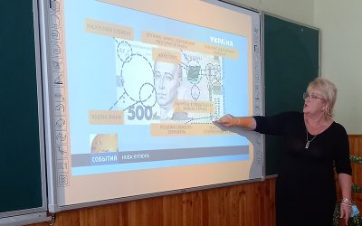 Відзначення 25-річчя грошової реформи в ліцеї